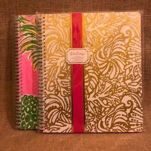 (2) NIP Lilly Pulitzer Notebooks